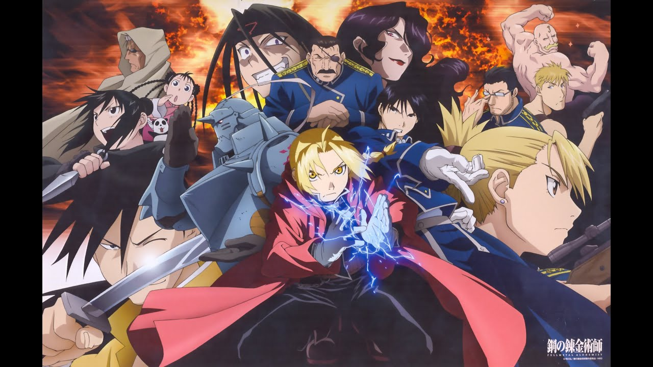 Image result for fullmetal alchemist brotherhood characters
