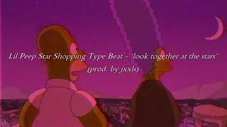 """(Free) Lil Peep Star Shopping Type Beat - """"look together at the stars"""" (prod. by jxxls)"""