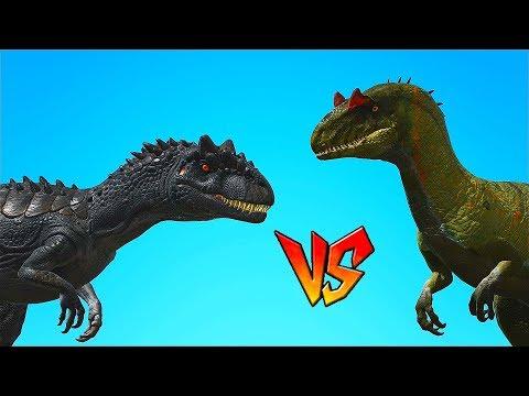 Ark Survival - ALLOSAURUS vs JP ALLOSAURUS [Ep.80]