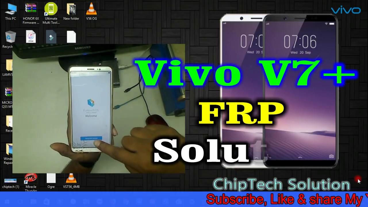Vivo V7 Plus FRP Solution | Android Version 8 0 0 : LightTube
