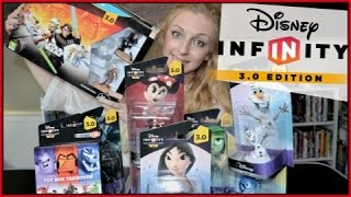 Disney Infinity 3.0 Star Wars Wii U Starter Pack & Toy Box Takeover Unboxing