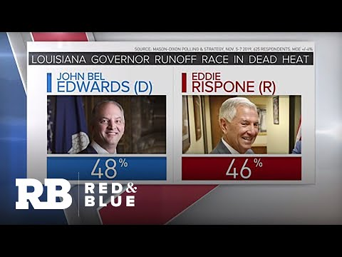 Louisiana's runoff election for governor coming down to the wire