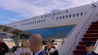 Melania Trump's plane makes quick return over