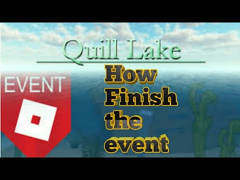 How to Finish the event[ROBLOX-Scuba Diving at Quill Lake]