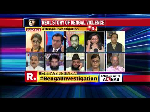 Why is the Award wapsi brigade silent on violence in Bengal? | Republic TV