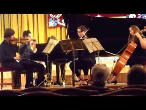 Mozart Quartet in G Minor