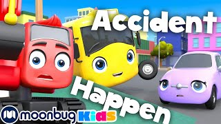 Buster's Back at School - Accidents Happen + MORE | Go Buster | Stories for Kids | Cartoons for Kids