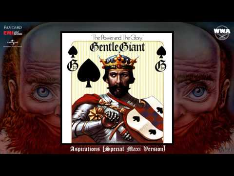 Gentle Giant - Aspirations (Remastered Maxi Version) [Progressive Rock] (1974)