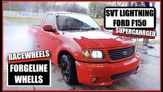 FORD LIGHTNING GETS NEW WHEELS (BOUGHT A NEW TRUCK)