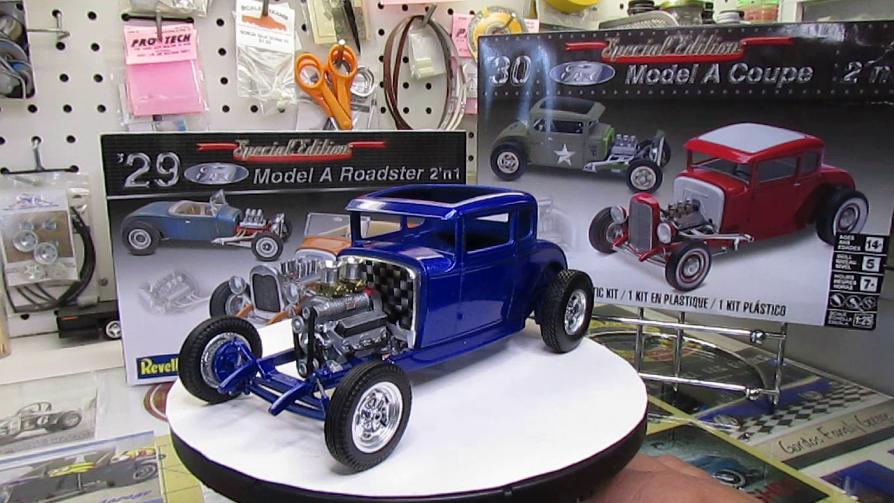 Revell 30 Ford Coupe Update Doovi