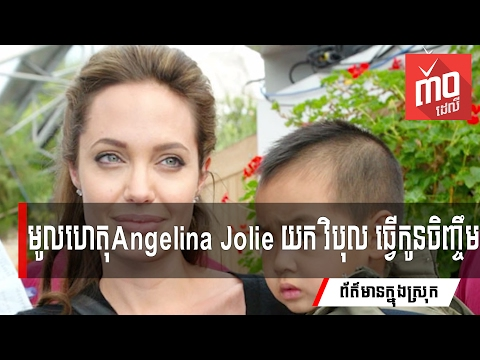 តោះ! ស្ដាប់មូលហេតុ នាង Angelina Jolie យក វិបុល ធ្វើកូនចិញ្ចឹម