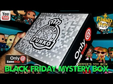 Unboxing The Funko Gamestop Black Friday 2016 Mystery Box