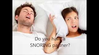 Snoring Silencer | Silent partner | World first snoring cancellation device