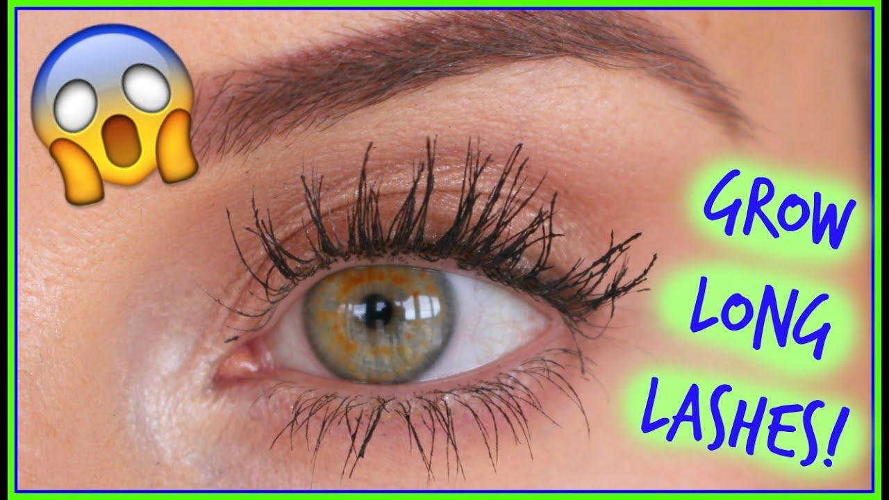 71116db753d 😱 How I Grew LONG LASHES! 👀🙌🏼 [Laura's Views] - YouTube