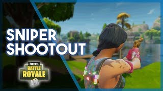 Fortnite BR | Sniper Shootout! (Getting Jack his First Win!)