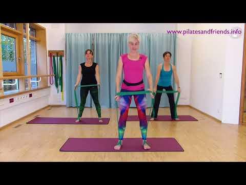 Pilates mit CLX Band mit Stefanie Rahn