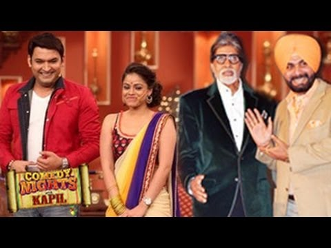 Amitabh Bachchan's Bhoothnath Returns on Comedy Nights with Kapil 6th  April 2014 FULL EPISODE