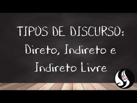 DISCURSO DIRETO, INDIRETO E INDIRETO LIVRE/ Vivi Xanthakosиз YouTube · Длительность: 7 мин7 с
