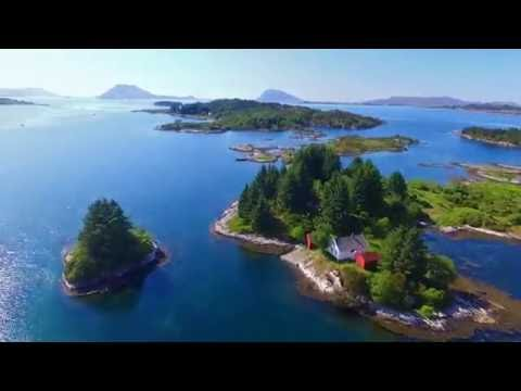 Norway, Flora, Florø, from quadcopter 2016