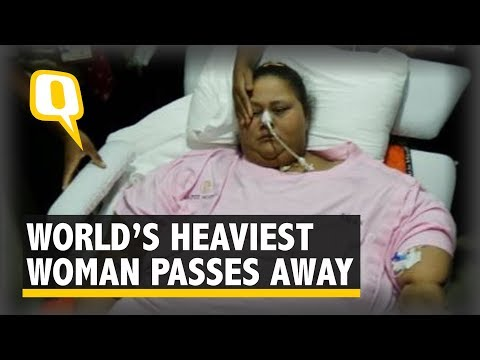 World's Heaviest Woman, Eman Ahmed Breathes Her Last In Abu Dhabi
