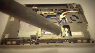 how to clean dell latitude e6430 e6420 e6410 e6540 cpu heatsink fan