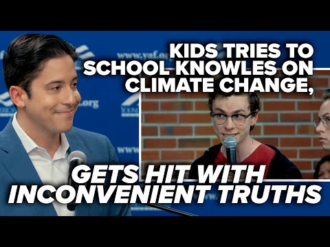 Kids tries to school Knowles on climate change, gets hit with inconvenient truths