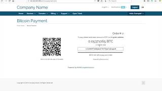 How to accept bitcoin payment for your whmcs shop! join our telegram: https://t.me/blockonomicsco see merchant page: https://www.blockonomics.co/merchant...
