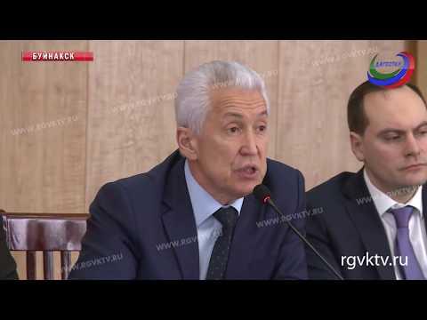 Владимир Васильев в Буйнакске провел выездное заседание Совбеза республики