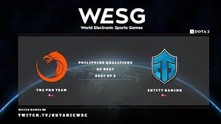 TNC PH vs Entity Gaming Game 1 (BO3) | WESG PH Qualifiers