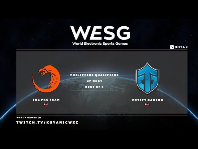 TNC PH vs Entity Gaming Game 1 (BO3) | WESG PH Qualifiers
