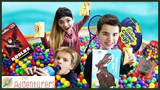 BALL PiT PARTY! Scavenger Hunt Hide And Seek TREASURE / That YouTub3 Family The Adventurers