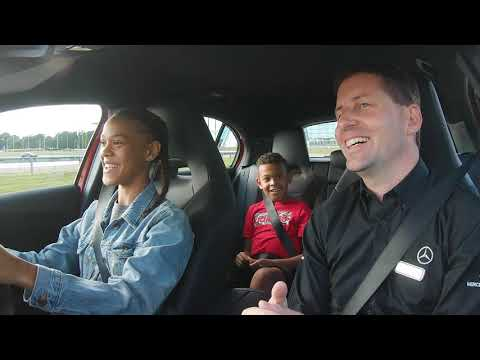 Video of Young Driver Track Experience at Mercedes-Benz World