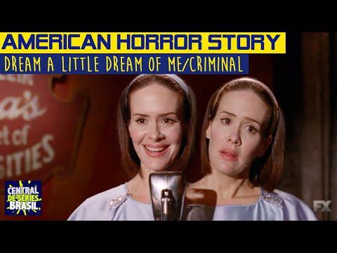 Musical - American Horror Story 4x02 - Bet & Dot - Dream a little dream of me/Criminal (Legendado)
