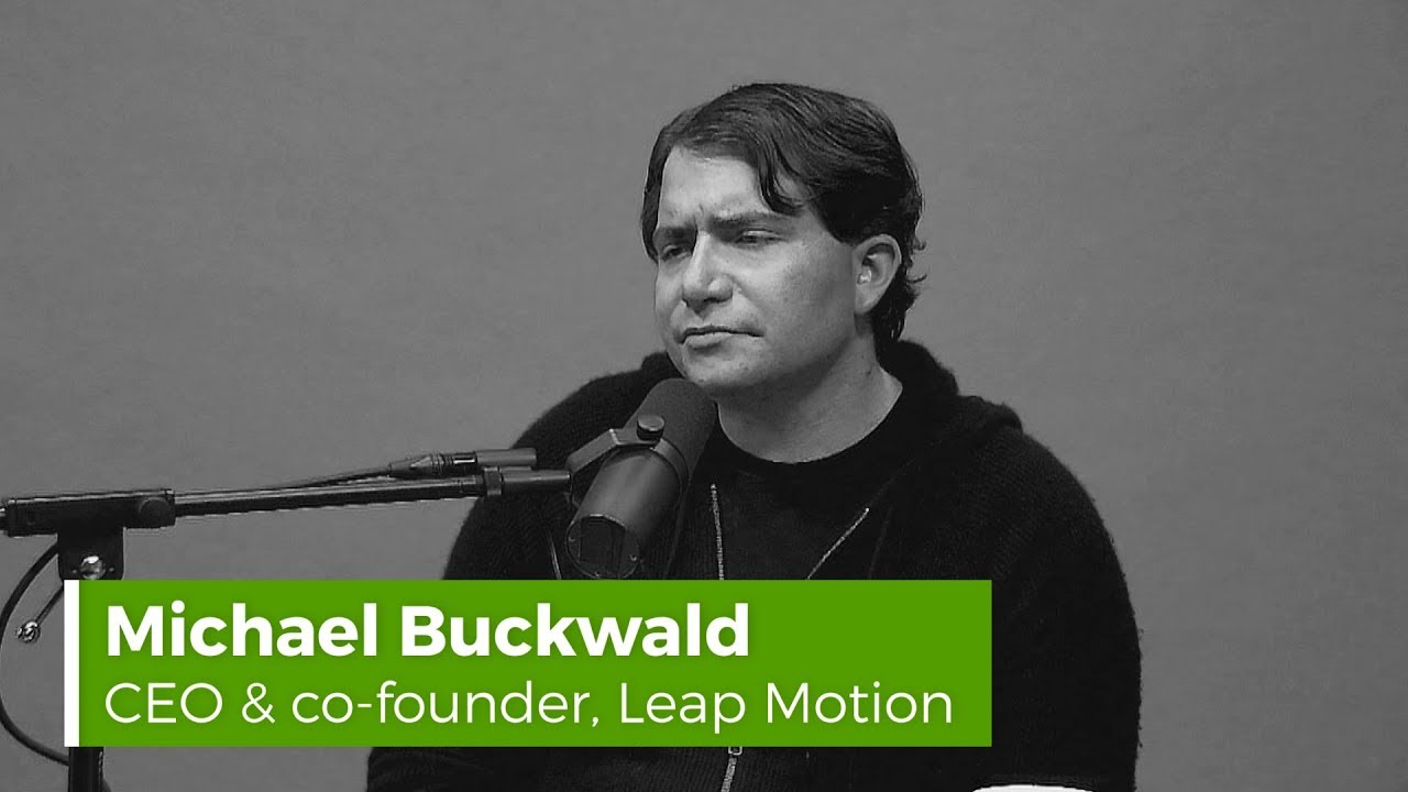 QUICK TAKE! Leap Motion CEO & co-founder Michael Buckwald demos AR-VR hand  tracking