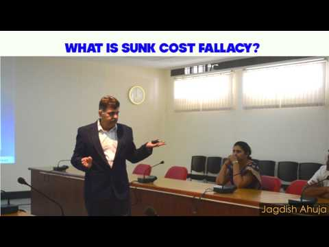 What is Sunken Cost Fallacy. How does this influence trading and investment decisions