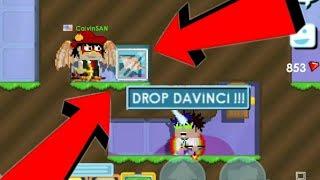 DAVINCI WING SCAM FAIL !!! (INSANE SCAM FAIL) | Growtopia
