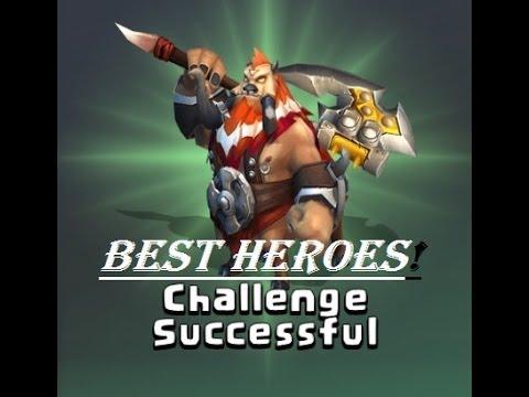 Castle Clash Best Heroes For Boss Battle!