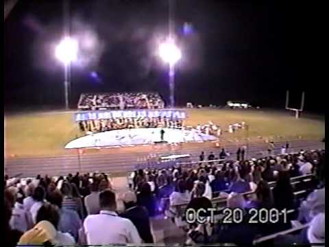 Winter Dreams - Newberry High School Blue Brigade - 2001