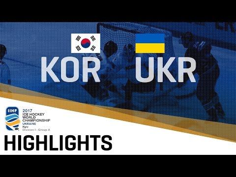 Korea - Ukraine | Highlights | 2017 IIHF Ice Hockey World Championship Division I Group A