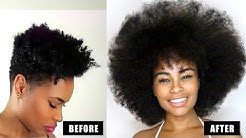 How to GROW Natural Hair Long & Fast! 3 easy steps that ACTUALLY Works