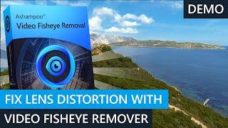 Ashampoo® Video Fisheye Removal Demo