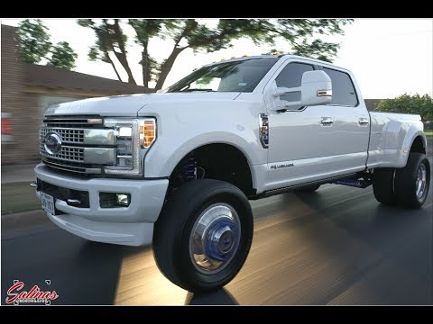 2017 F350 Dually on American Force wheels and a 6 inch FTS ...