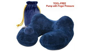 Travel Neck Pillow Air Travel Pillow Compressible Airplane