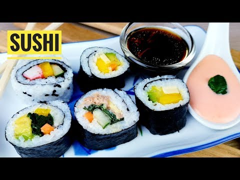 How To Make Yummy And Simple Sushi