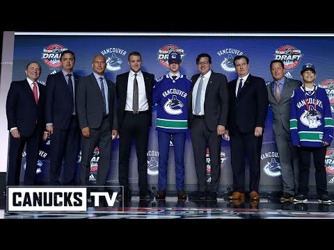 Elias Pettersson Drafted 5th Overall by the Vancouver Canucks (June 23, 2017)