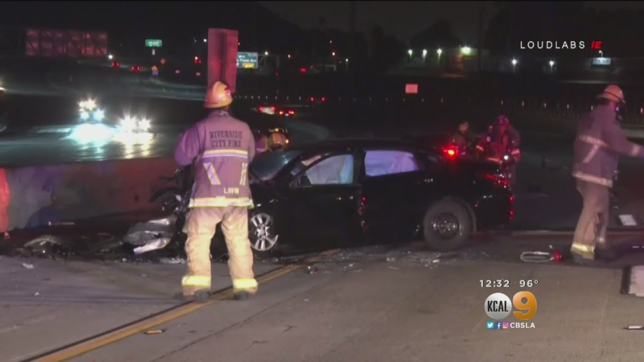 Wrong Way Driver Kills 2 In Head On Collision On 91 Freeway In Riverside