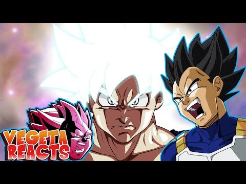 Vegeta Reacts To Mastered Ultra Instinct Goku Vs Jiren