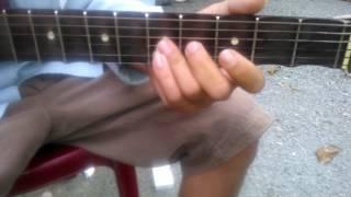Hướng dẫn guitar Lý Bông Dừa - Dây đào