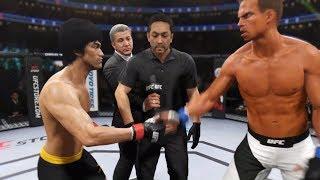 Bruce Lee vs. Agent Smith (EA Sports UFC 2) - CPU vs. CPU