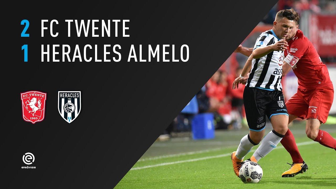 FC Twente - Heracles Almelo 2-1 | 29-09-2017 | Samenvatting